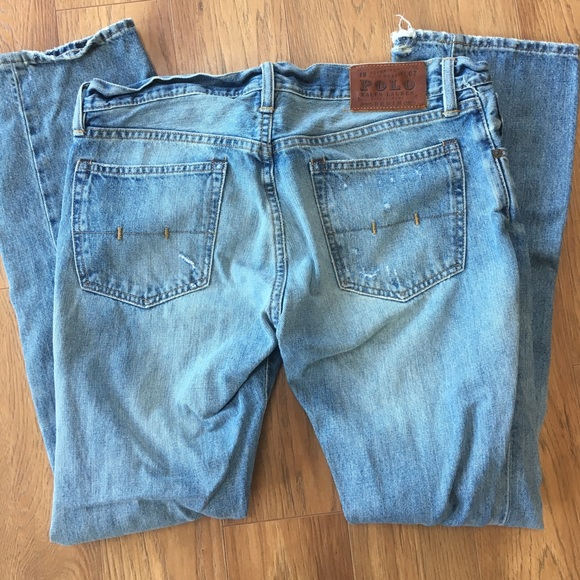 Lauren Jeans 3030 Ralph Polo Distressed 2IWH9EDY